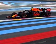 Verstappen leads second French GP practice as tire choices diverge