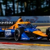 Mechanical issue ends Magnussen's IndyCar debut early