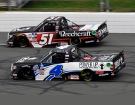 Nemechek outduels boss Kyle Busch for victory at Pocono
