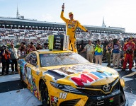 Kyle Busch claims dramatic fuel mileage win in Race 2 at Pocono