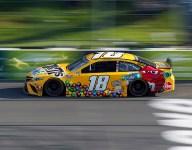 """""""We were fast, the Hendrick cars were still faster"""" - Kyle Busch"""