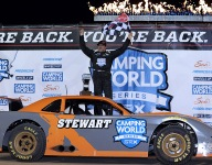 Stewart fends off Swanson for second straight SRX win