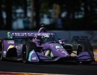 Grosjean leads opening IndyCar practice at Road America
