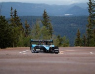 Shute claims second Pikes Peak victory on shortened course