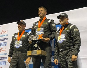 Local short tracker Coby claims inaugural SRX win