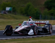 Late gear issue robs Newgarden of potential Road America victory