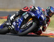 Gagne on top on opening day for Superbike at Road America