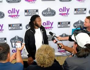 NFL player Kamara partners with NASCAR in advisory role