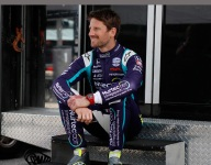 Content in IndyCar, Grosjean ready to try oval racing at WWTR