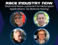 Coming up: Race Industry Now episode 106: 'Diamond Nano-Lubricant for Motorsport Applications' by BestLine Racing