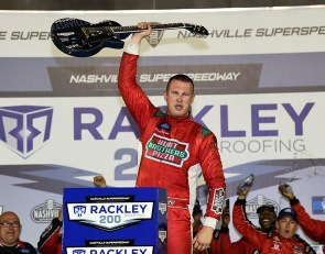 Preece wins at Nashville in first career Truck Series start