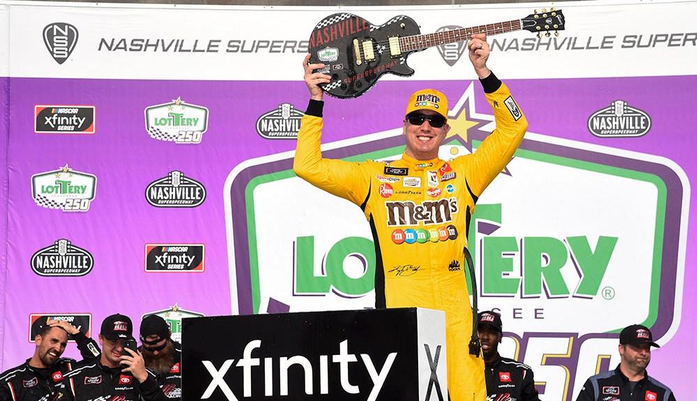Kyle Busch wins 100th Xfinity Series Race in Nashville - Autobala
