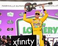 Kyle Busch wins 100th Xfinity Series race at Nashville