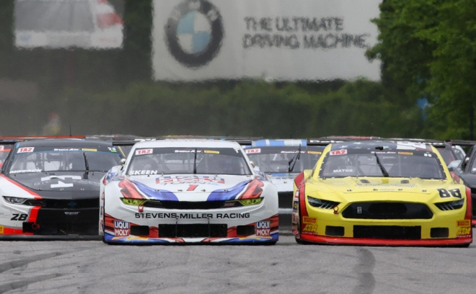 Full Race Replay: TA2 race gets heated at Lime Rock Park