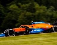 P3 shows McLaren potential when car works - Norris