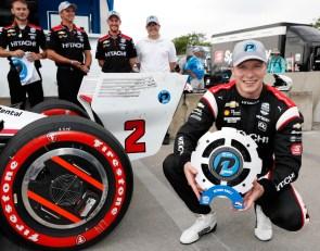Newgarden breaks Penske drought with Detroit Race 2 pole
