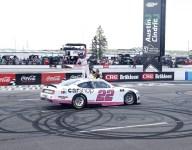 Austin Cindric holds off Ty Gibbs for first NASCAR Xfinity win at Pocono