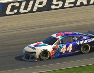 Burroughs climbs learning curve after late call-up to eNASCAR Coca-Cola iRacing Series