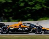O'Ward paces testing at Portland