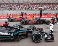 Perez feels pushed to 'a new level' by Hamilton and Verstappen