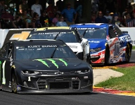 """Kurt Busch """"gave it everything"""" for big points day at Road America"""