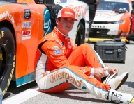 Burton set for Wood Brothers Ford