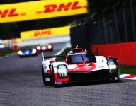 Toyota sets pace in opening Monza practice
