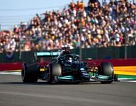 Silverstone Sprint pole to Hamilton