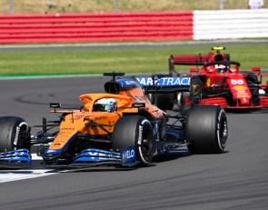 Sainz pressure helped Ricciardo get more aggressive