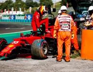 Sainz blames gust of wind for Q2 crash