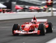 XX and Ferrari F1 cars amaze at Indianapolis
