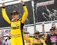 Bell wins third straight Xfinity race at New Hampshire