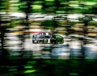 Kurt Busch leads, Kyle Busch crashes in NASCAR practice at Road America