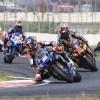 Gagne overcomes crash for 10th straight MotoAmerica win at BIR