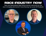 Race Industry Now: 'New and specialized high performance lubricants for auto racing'