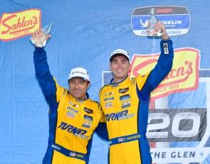Auberlen, Machavern claim Michelin Pilot Challenge win at Watkins Glen