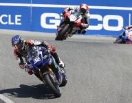 Gagne grabs close Race 1 victory at WeatherTech Raceway Laguna Seca