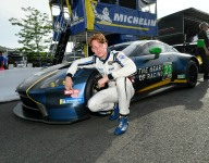 De Angelis, Heart of Racing claim first-ever GTD pole
