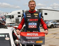 Skeen battles back, takes TA2 pole over 38-car Road America field