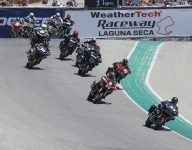 MotoAmerica support classes: Wyman crowned, Kelly wins again