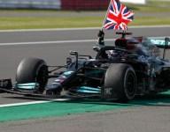 Overcoming penalty, Hamilton overhauls Leclerc for British GP win