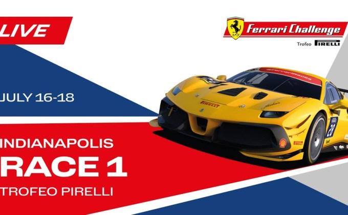 Live Stream: Ferrari Challenge from IMS