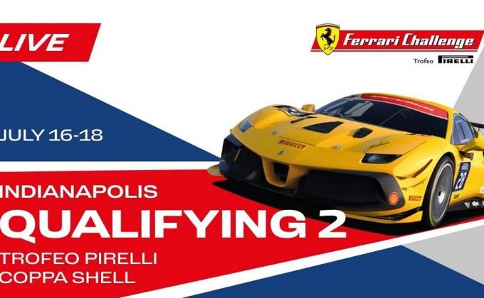 Live Stream: Sunday Ferrari Challenge at IMS