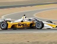 Newgarden tops Laguna Seca IndyCar test