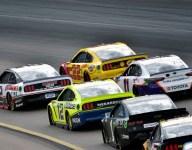Penske cars 1-2-3 on Watkins Glen grid