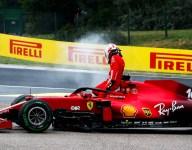 Ferrari expects Leclerc penalty after PU crash damage