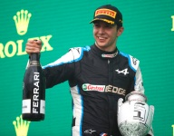 Ocon in clear after reprimand for missing parc ferme