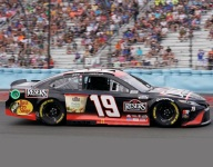 Truex gives his all, but can't quite match Hendrick cars at the finish