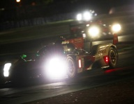 Toyotas top red flag-interrupted night practice at Le Mans