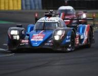 Alpine leads third Le Mans practice